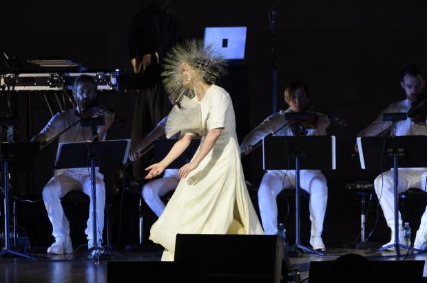 Björk divulga novo CD, Vulnicura, em show no Carnegie Hall. (Crédito: Kevin Mazur)