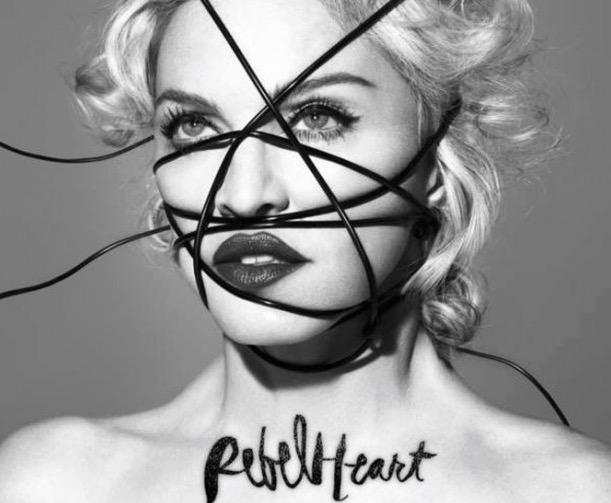 Capa do novo CD de Madonna, a ser lançado amanhã. (Crédito: Divulgação)