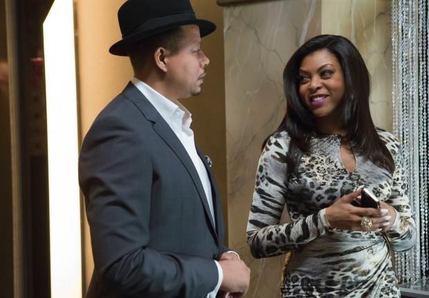 Cookie e o ex-marido Lucious Lyon (Terrence Howard) (Crédito: Chuck Hodes/Fox)