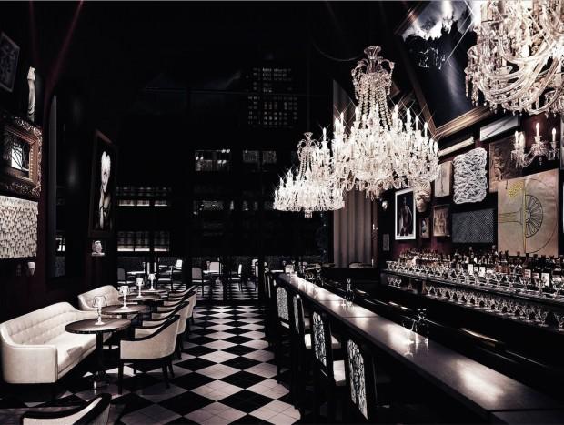 O bar mais chique de Nova York é inspirado pelos estábulos do Palácio de Versalhes. (Crédito: Divulgacão)