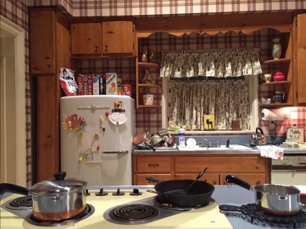 Réplica da cozinha de Betty Draper, nas temporadas 1-4 de Mad Men. (Foto: Marcelo Bernardes)
