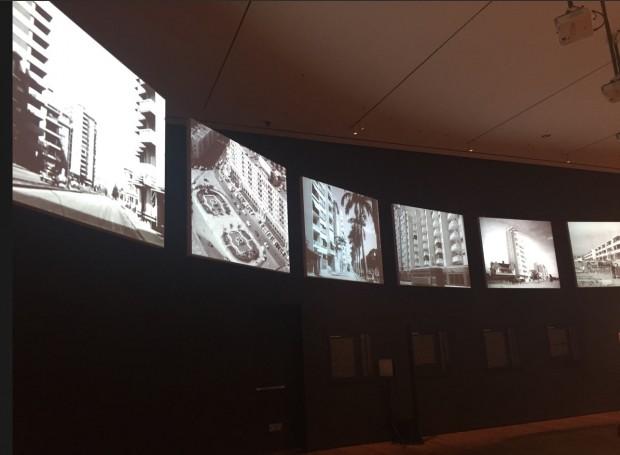 Sete telões mostram imagens simultâneas de cidades como Rio de Janeiro, São Paulo, Buenos Aires e Caracas. (Foto: Marcelo Bernardes)