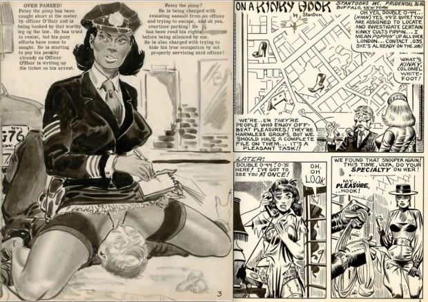 O ilustrador Eric Stanton era uma espécie de Carlos Zfiro do Brooklyn, NY. (Cortesia: Taschen)