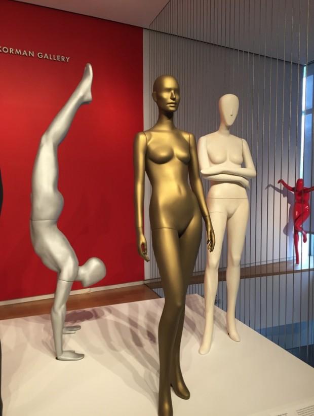 Entrada da mostra de Ralph Pucci no Museu de Artes e Design, de NY. (Foto: Marcelo Bernardes)