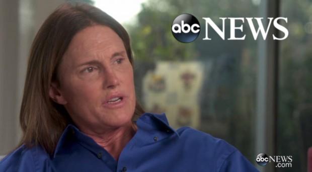Bruce Jenner logo após admitir ter feito transição de sexo á jornalista da rede ABC, Diane Sawyer. (Foto: Cortesia ABC)