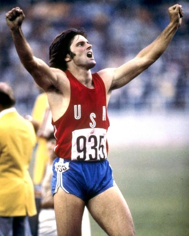 Jenner nas Olímpiadas de Montreal, em 1976. (Foto: Divulgação)