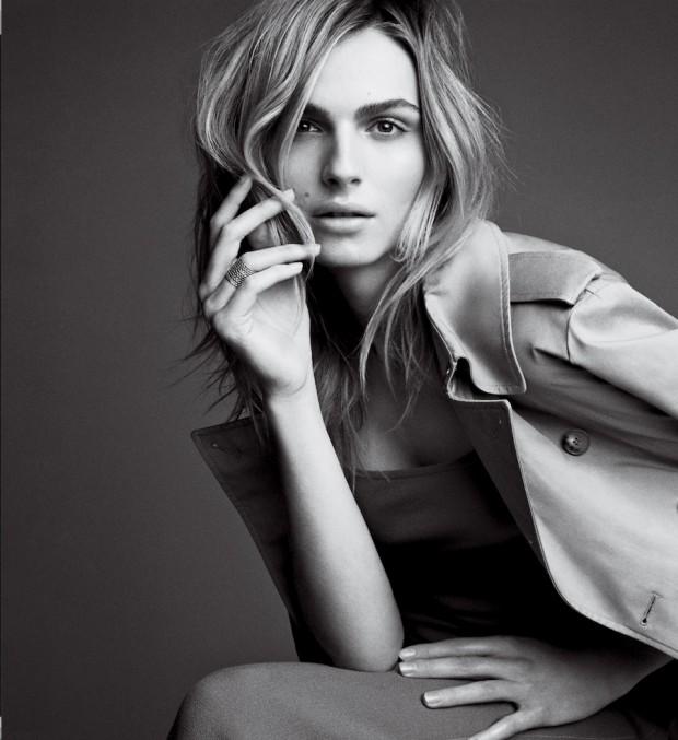 A modelo transgênero Andreja Pejic, 23, ganhou grande perfil, este mês, na edição americana da revista Vogue. (Foto: Patrick Demarchelier/Vogue)