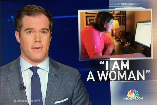 Emissora concorrente NBC também falou sobre a entrevista de Jenner e a condição dos transgêneros americanos na noite de sábado. (Foto: Reproducão)