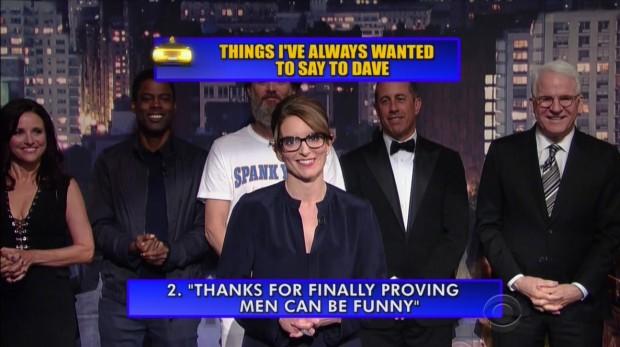 Tina Fey no Top 10 List