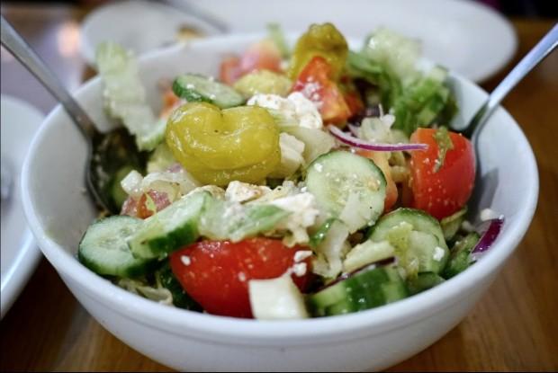 Salada grega. (Foto: Divulgação)