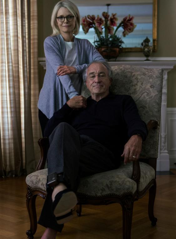 Michelle Pfeiffer e Robert De Niro nos papéis de Ruth e Bernie Madoff. (Foto: cortesia HBO)