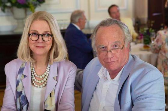Blythe Danner e Richard Dreyfuss também interpretam o casal Madoff em minissérie da rede ABC
