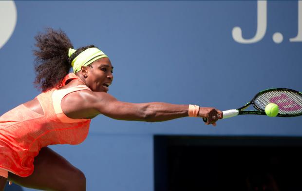 Serena Williams perdeu por dois sets a um. (Foto: Pete Staples/USTA)