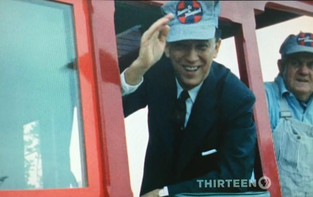 Em 1961, Juscelino Kubistchek e a família dele visitaram a sede da Disneylândia, na Califórnia. (Foto: Reprodução)