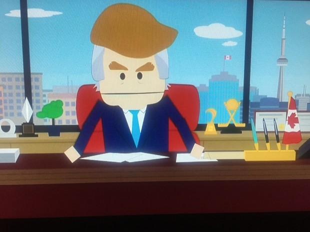 Canadenses entraram ilegalmente nos Estados Unidos para fugir do novo presidente reacionário, que é a cara de...Donald Trump. (Foto: Reprodução)