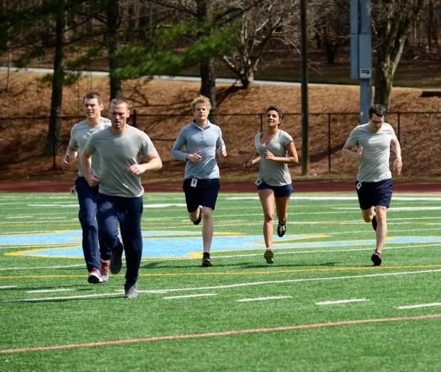 """Os cadetes de """"Quantico"""": um deles arquitetou o """"pior ataque terrorista nos EUA depois de 11/9"""". (Foto: ABC/Guy D'Alema)"""