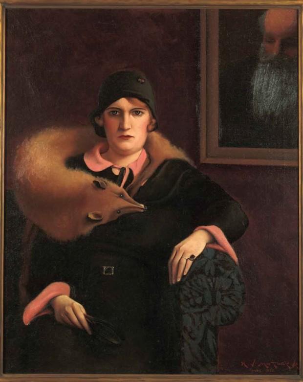 Retrato da mulher de Motley, de 1930. (Foto: Divulgação)