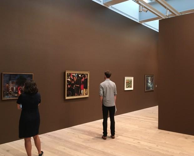 Uma das galerias do Whitney, que expões 42 obras de Motley. (Foto: Marcelo Bernardes)