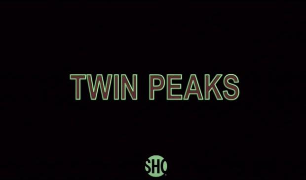 Logotipo de Twin Peaks aparece no novo teaser da série. (Foto: Reprodução)