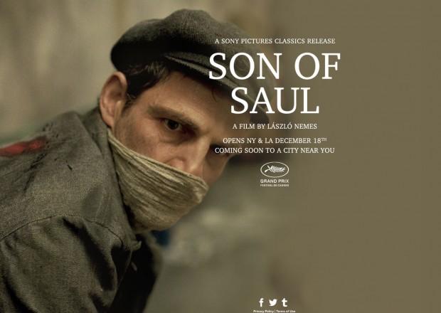 """O filme húngaro """"Son of Saul"""", exibido na Mostra de São Paulo, é o candidato favorito até o momento. O filme estreia nos Estados Unidos na semana de Natal. (Foto: Divulgação)"""