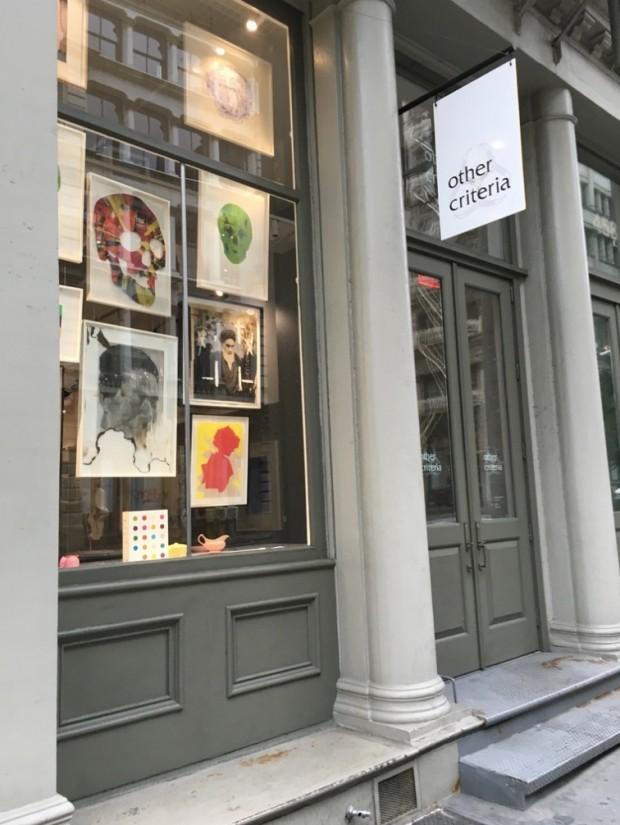 A loja Other Criteria, do artista plástico inglês Damian Hirst, no SoHo. (Foto: Marcelo Bernardes)