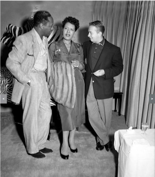 Charlie Parker e Billie Holiday em imagem de 1950. (Foto: Reprodução)