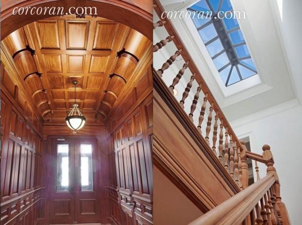 Entrada e último andar da casa de Lady Day. (Foto: Corcoran.com)