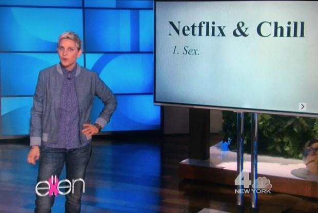 Esta semana, a apresentadora Ellen DeGeneres descobriu que a plateia de seu novo programa está bem informada em relação a novas gírias. (Foto: Reprodução)