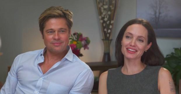 Entrevista do casal Angelina Jolie e Brad Pitt vai ao ar na segunda-feira. (Foto: Reprodução)