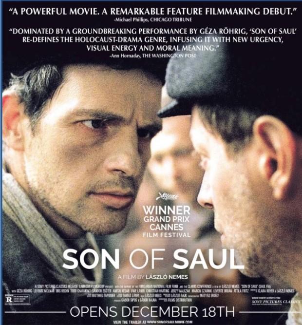 """A campanha mais agressiva até o momento nesta categoria é a do mini-estúdio Sony Classics para o filme húngaro """"Son of Saul"""", de László Nemes, que estreia nos Estados Unidos na semana de Natal."""