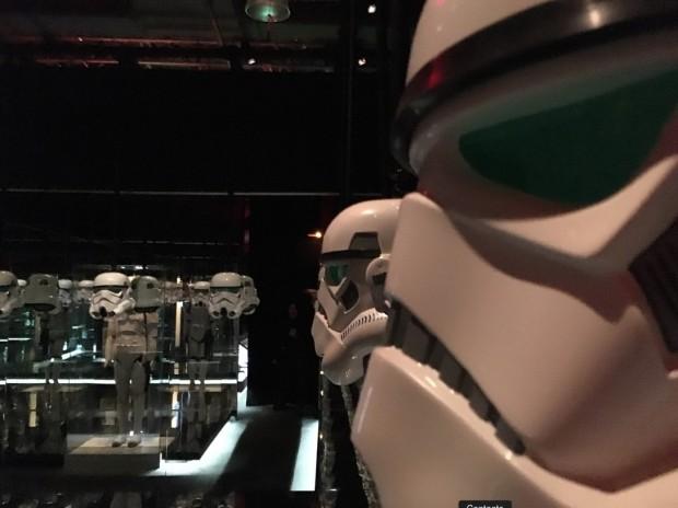 A sala dos stormtroopers. (Foto: Marcelo Bernardes)
