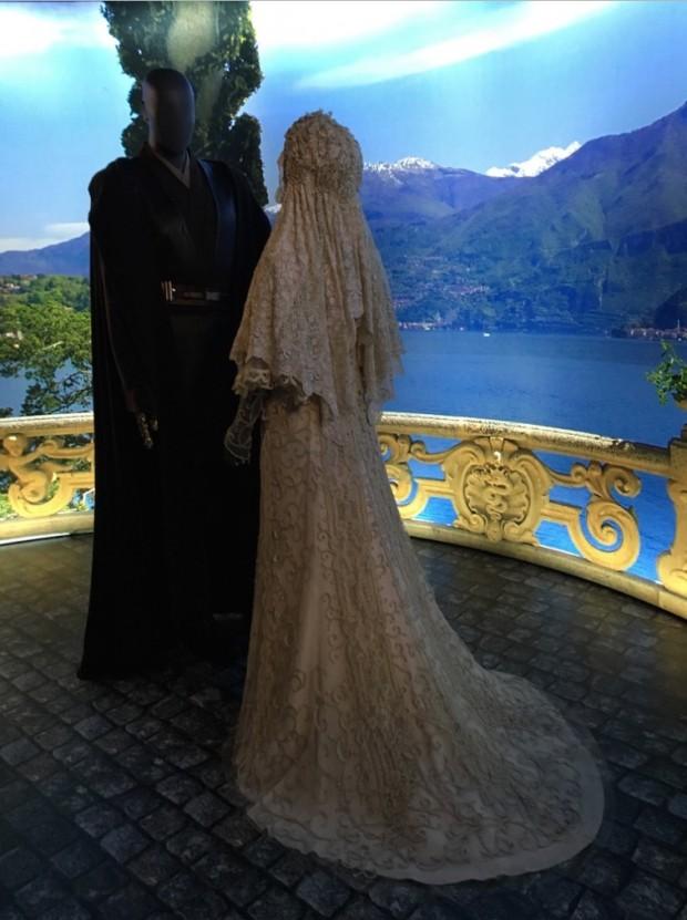 O vestido de noiva de Rainha Amidala. (Foto: Marcelo Bernardes)