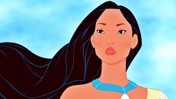 A saga da índia americana Pocahontas foi bastante criticado por romantizar a história dela com o explorador inglês John Smith. (Foto: Divulgação)
