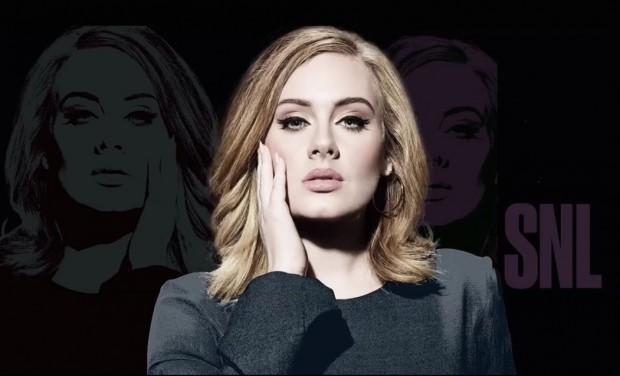 """A foto promocional de Adele no """"Saturday Night Live"""". (Foto: Reprodução)"""