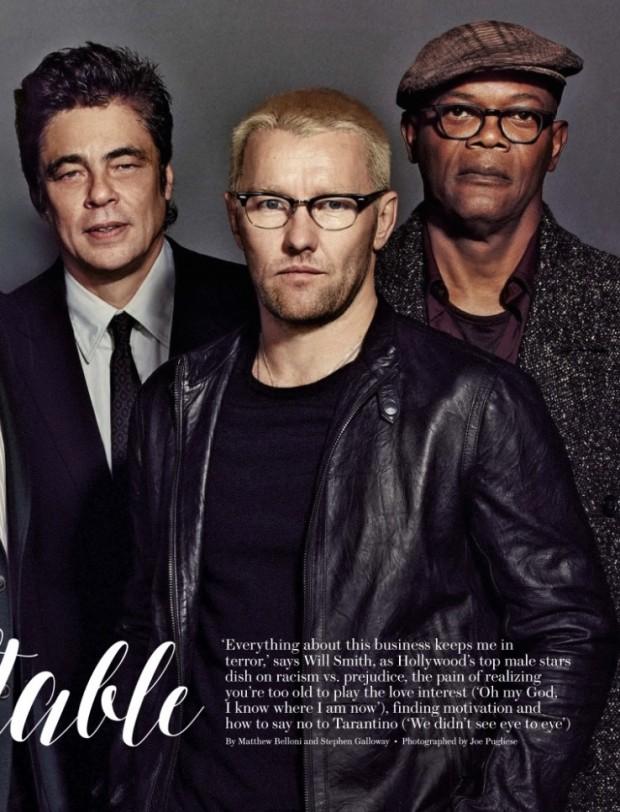 Benicio Del Toro, Joel Edgerton e Samuel L. Jackson. (Foto: Reprodução)