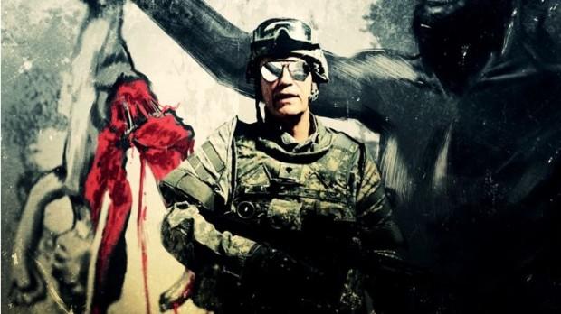 Em estilo militar, Malkovich aparece no vídeo de sete minutos, rodado pelo fotógrafo Sandro Miller.