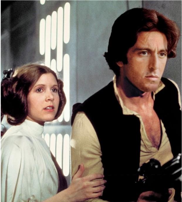 Al Pacino como Han Solo. (Foto: Reprodução)