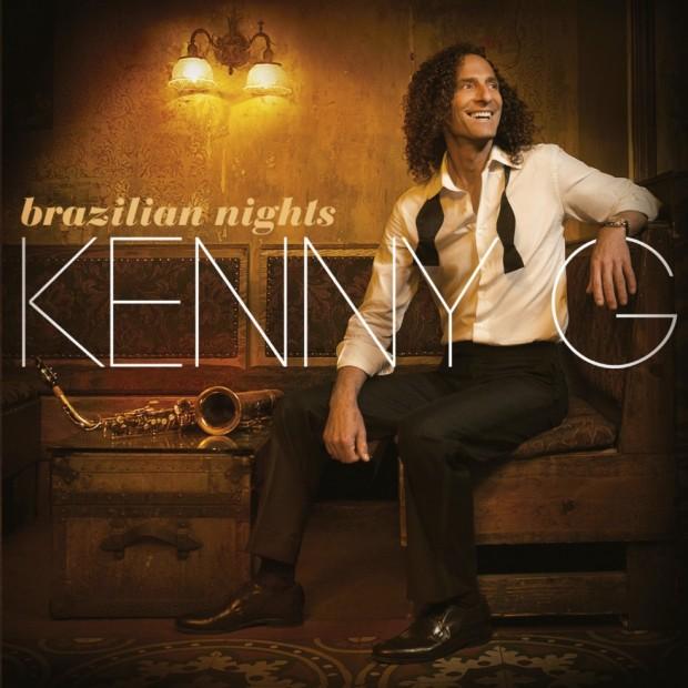 """Capa do último CD de Kenny G, """"Brazilian Nights"""". (Foto: Divulgação)"""