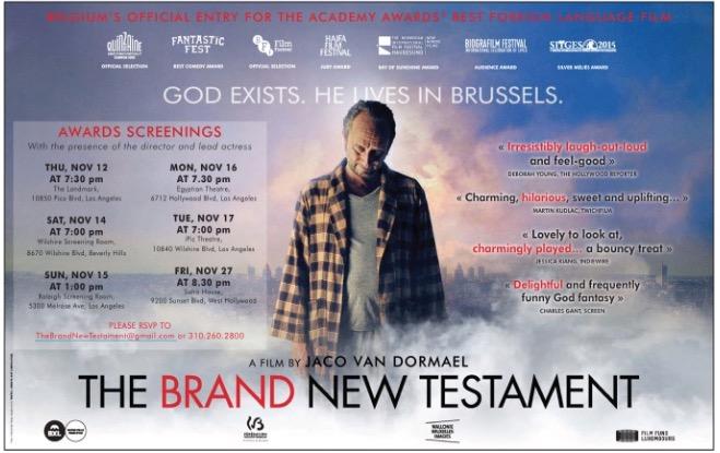 """O Novíssimo Testamento"", Bélgica"