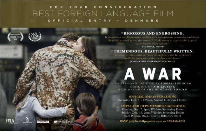 """A War"", Dinamarca"