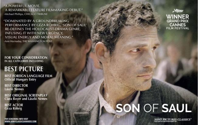 """""""Filho de Saul"""", Hungria"""