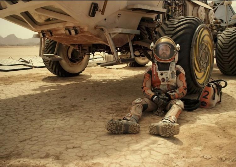 Matt Damon em cena do filme Marte. (Foto: Divulgacão)