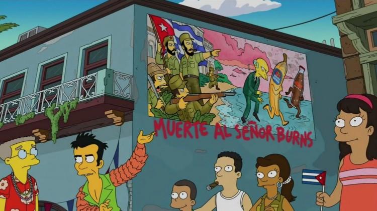 """Em Havana, o novo namorado de Smithers mostra o ódio que sente pelo """"señor Burns"""". (Foto: Reprodução)"""