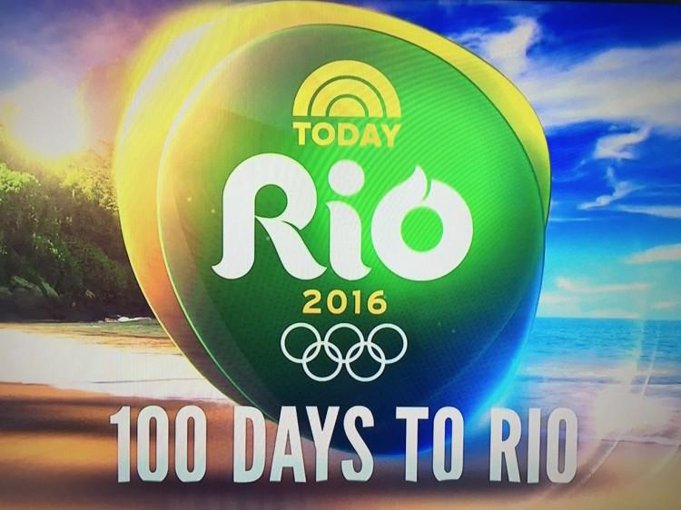 O logotipo da cobertura exclusiva da rede NBC para os Estados Unidos da Rio-2016. (Foto: Reprodução)