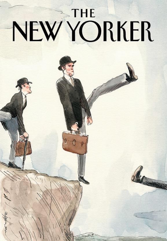 Ilustração de Barry Blitt para a capa da revista The New Yorker. (Foto: Reprodução)