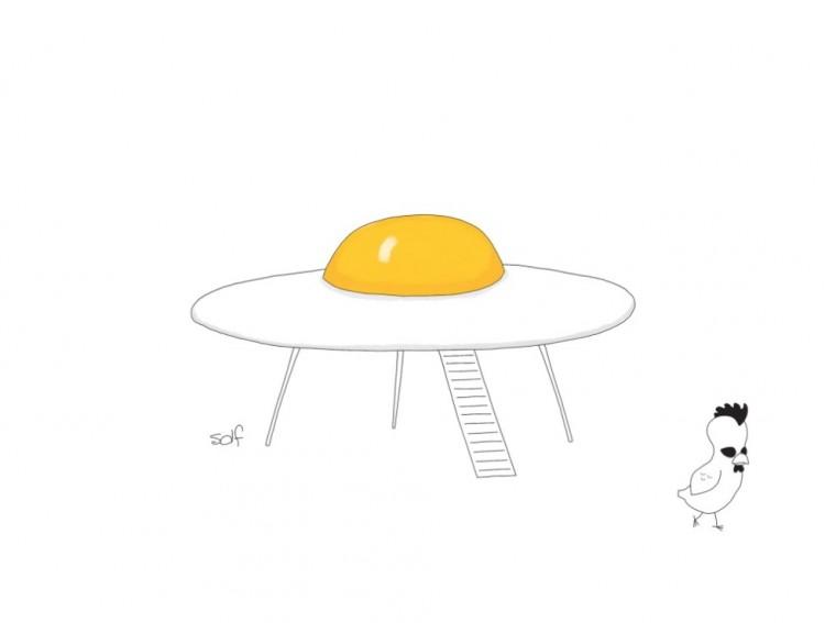 Ilustração de Solf para a revista The New Yorker. (Foto: Reprodução)