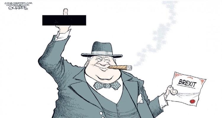 Charge de Gorell para o jornal The New York Post. (Foto: Reprodução)