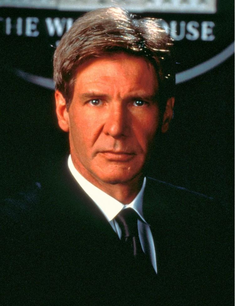 """Harrison Ford em """"Força Aérea Um"""": o melhor presidente americnao de mentirinha. (Foto: Divulgação)"""