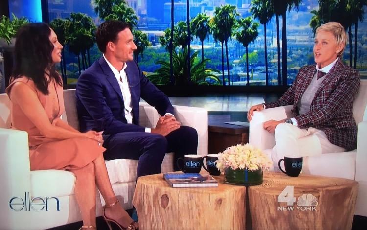 Em entrevista no programa de Ellen DeGeneres, exibida na tarde de segunda (12), Lochte fala sobre o incidente no Rio e a suspensão de dez meses. (Foto: Reprodução)