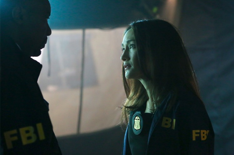 Hannah Wells (Maggie Q) é uma agente do FBI que ajuda na investigação do atentado terrorista. (Foto: Ian Watson/ABC)